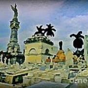 Columbus Cemetary Havana Art Print