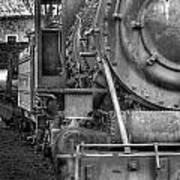 Comox Logging Engine No.11 Art Print