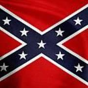 Confederate Flag 5 Art Print