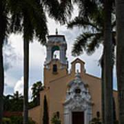 Congregational Church Of Coral Gables Art Print