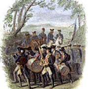 Continental Army Band Art Print