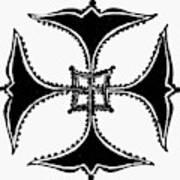 Coptic Cross Art Print