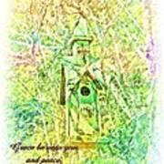 1 Corinthians 1 3 Art Print