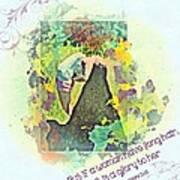 1 Corinthians 11 15 Art Print