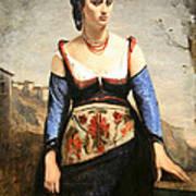 Corot's Agostino Art Print