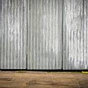 Corrugated Metal Art Print
