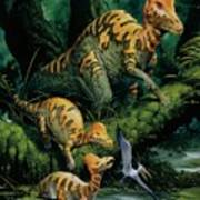 Corythosaurus Art Print