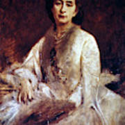 Cosima Wagner (1837-1930) Art Print