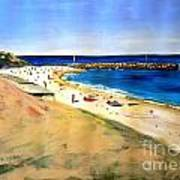 Cottesloe Beach Art Print