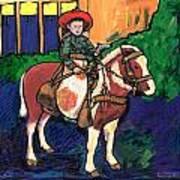 Cowboy Dale Art Print