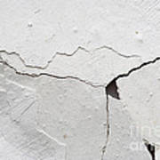 Cracked Stucco Art Print