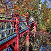 Crim Dell Bridge Art Print