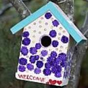 Cute Little Birdhouse Art Print