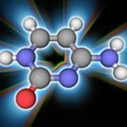 Cytosine Organic Compound Molecule Art Print