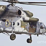 Czech Air Force Mi-171 Hip Helicopter Art Print