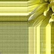 Dahlia Named Canary Fubuki Art Print