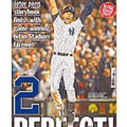 Daily News Front Page Wrap Derek Jeter Art Print