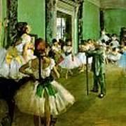 Dance Class  Art Print