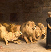 Daniel In The Lions Den Art Print