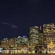 Darling Harbour In Sydney Australia Art Print