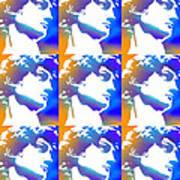 David Repeat Treatment One Color Art Print