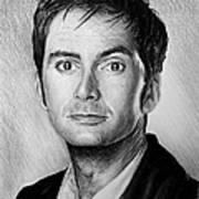 David Tennant Art Print by Andrew Read