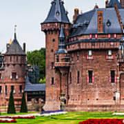 De Haar Castle. Utrecht. Netherlands Art Print by Jenny Rainbow