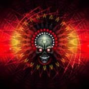 Deadstep - Hellfire Remix Art Print