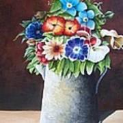 Deanne's Flower Pot Art Print