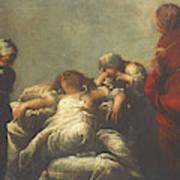 Death Of Cleopatra Art Print