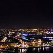Derry At Night Art Print
