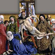 Descent From The Cross Art Print