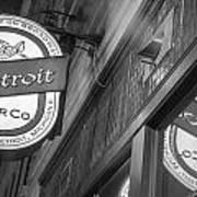 Detroit Beer Company  Art Print