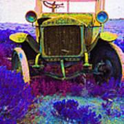 Diamond T Touring Car C.1911 Ghost Town South Pass City Wyoming 1971-2009 Art Print