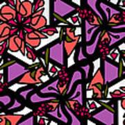 Digi-flora Art Print