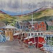 Dingle-harbour-ii Art Print