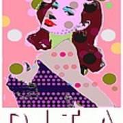 Dita Art Print by Ricky Sencion