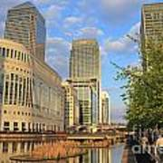 Docklands London Art Print