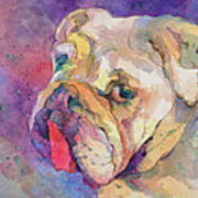 Dog-tired Art Print