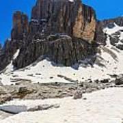 Dolomites - Pisciadu Peak Art Print