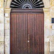 Door From Sicily Art Print