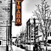 Downtown Boise Art Print