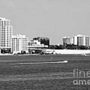 Downtown Clearwater Skyline Art Print