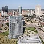 Downtown Fort Worth Skyline Art Print