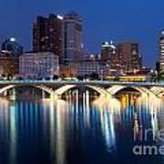 Downtown Skyline Of Columbus Art Print