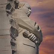 Dr. Martin Luther King Jr Memorial Art Print