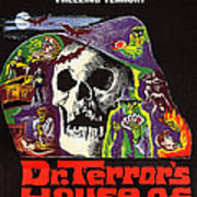 Dr. Terrors House Of Horrors, Poster Art Print