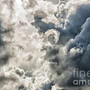Drama In The Sky Art Print