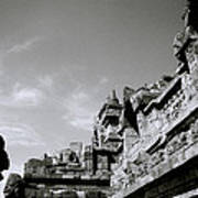 Dramatic Borobudur Art Print