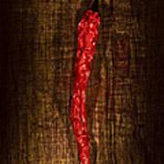 Dried Pepperoni Art Print